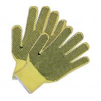 Double Sides PVC Dotted Hand Protection Gloves Cotton Knit Work Gloves Manufactures