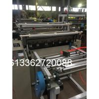 HDPE / LDPE T Shirt Plastic Bag Making Machine With PLC Control Manufactures