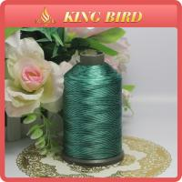 China High Tenacity Embroidery Machine Bobbin Thread Filament Polyester on sale
