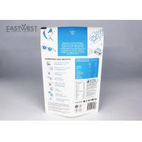 China Resealable Biodegradable Packaging Bags Compostable Stand Up Pouches Eco - Friendly on sale