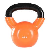 China Vinyl Coated Gym Kettlebell 24 Kgfor Cross Training Swings Body Workout on sale