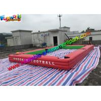 China 1 Year Warranty Inflatable Sports Games Inflatable Snooker Table With Soccer Ball on sale