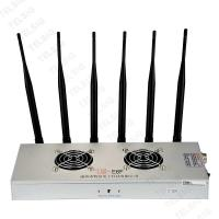 China 450 * 240 * 85mm Cell Phone Frequency Jammer , 6 Band Portable Bluetooth Jammer on sale