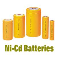 China NiCd Battery Packs AAA300MAH , Rechargeable Batteries BackUP Power on sale