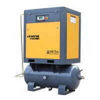 Factory Wholesale 300L Tank mounted 10HP Air Compressor  for Roast Room Manufactures