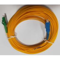 2.0-20M Single Mode Fiber Patch Cable , SC LCA Simplex Fiber Patch Cord Manufactures