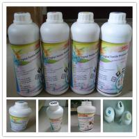 China CMYK Water Based Dye Sublimation Ink Four Colors For Indoor / Outdoor Advertising on sale
