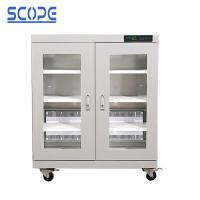 LCD Touch Screen Electronic Dry Cabinet Temperature And Humidity Control