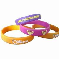 Embossed Silicone Wristbands Manufactures