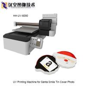 UV Printing Machine for Santa Smile Tin Cover Photo 60X90CM Manufactures