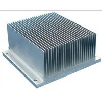 6061 T6 / T66 Aluminum Heatsink Extrusion Profiles For Cars / Trains Machinery Manufactures