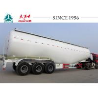 Heavy Duty Dry Bulk Cement Trailers V Shape 80 Tons Payload For Carrying Coal Ash Manufactures