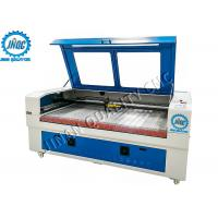 No Burr / Fraying CO2 Laser Cutting Engraving Machine , Automatic Fabric Cutter Manufactures