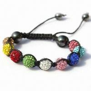 Shambhala Colorful Beaded/String/Ball/Handcraft Gift Bracelet Manufactures