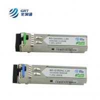 OEM manufacturer single-mode 1310Tx/1550Rx 1.25G 20km BiDi SFP Optical Module Manufactures