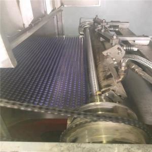 Crumb Rubber Modified Bitumen Steel Belt Pastillator , Wax Making Machine Durable