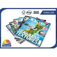 Customized Magazine Printing / Brochure Printing Services with Fast Delivery Manufactures
