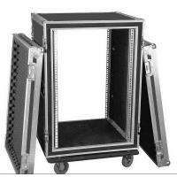 Aluminum 10U Rack Flight Case For Travel , Guitar Flight Cases Manufactures