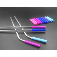 Stainless Steel Flexible Silicone Tubing Tasteless Food Grade Silicone Straw Color Manufactures