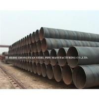Spiral water steel pipe Manufactures
