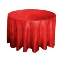 China 100%Polyester Round Table Cloth (10) on sale