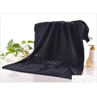 China 300gsm Microfiber Gym Towel With Zip Pocket Environmentally Friendly wholesale
