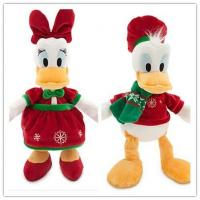 Disney Christmas Donald Duck and Daisy For Holiday Promotion Manufactures