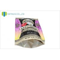 Plastic Stand Up Pouches Packaging For Fertilizer 4 lb , PET / PE 2 Layer Manufactures