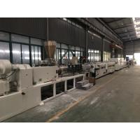 SJSZ Series Conic Double Screw PVC Agriculture Pipe Extrusion Machine Line Manufactures