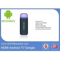 Nand Flash 8GB Android Smart IPTV Box Smart TV Dongle Full 1080P Resolution Manufactures