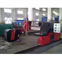 Steel Plate H Beam Welding Line CNC flame plasma cutting machine Manufactures