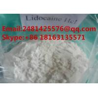 99% Purity Pain Killer Lidocaine Hydrochloride CAS 73-78-9 Local Anesthetic Powder