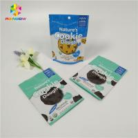 Colorful Small Mylar Aluminum Foil Food Packing Bags Zip Lock For Biscuit / Dry Fruit Manufactures