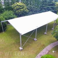 15x20 Clear Span Temporary Tent Buildings Waterproof For Uneven Ground Manufactures