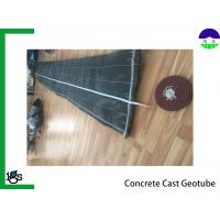 Concrete Cast Geotextile Filter Fabric For Solid Dam Engineering , Pile Driving Function Manufactures