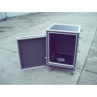 Rack Flight Case 8u ShockProof Case 9mm Plywood With 1mm Color Fireproof Wood  Color And Size Customer Request Manufactures