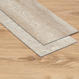 China Anti Slip LVT Wood Plank , Luxury Vinyl Sheet Flooring 3D Printed For Shopping Malls on sale