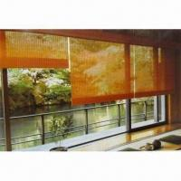 Rolling Style Bamboo Blinds for Curtains and Shade, Customized Colors and Sizes are Accepted Manufactures