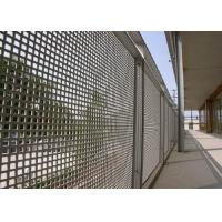 Round Hole Perforated Mesh Sheet Anti Corrosion 1050 Perforated Metal Panels Manufactures