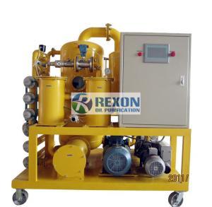 Quality Automatic PLC Transformer Oil Purifier Machine , Vacuum Transformer Oil Filter for sale