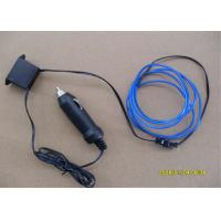 4mm / 5mm Electroluminescent LED EL Wire With DC 12V Inverter For Door And Wall Manufactures