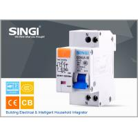 Single phase Electric mini Residual Current Circuit Breaker for industrial , building Manufactures