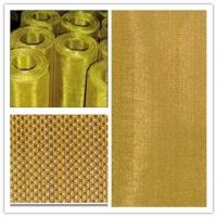 China Corrosion Resistance Brass Woven Wire Mesh For Metal Powder Filtration on sale
