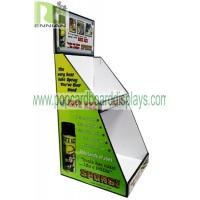 China Light Duty Point Of Purchase Pos countertop Cardboard Display Articles For Daily Use cardboard counter display units on sale