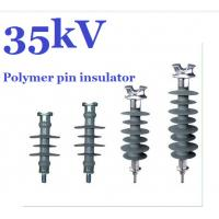 11kV - 36kV Silicon Rubber Polymer Pin Insulator For HV Distribution Lines Manufactures