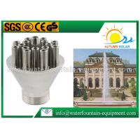 Central Upright Pond Fountain Nozzles, Stainless Steel Water Spray Nozzle Manufactures