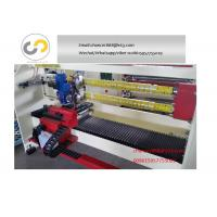 Quality Double shaft adhesive tape cutting machine for bopp tape,double-sided tape, PVC tape for sale