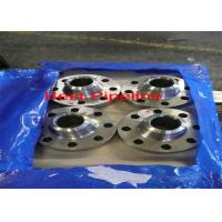 China ASME B16.5 Forged Steel Flanges Carbon Steel Screwed Material ASTM A105N CE Approval on sale