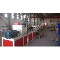 China Durable PVC Pipe Making Machine / Machinery With ABB Frequency Control on sale