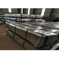 Standard JIS G3312 Pre Painted Sheet Metal , Pre Painted Gi Sheet 0.2-1.0mm Thickness Manufactures